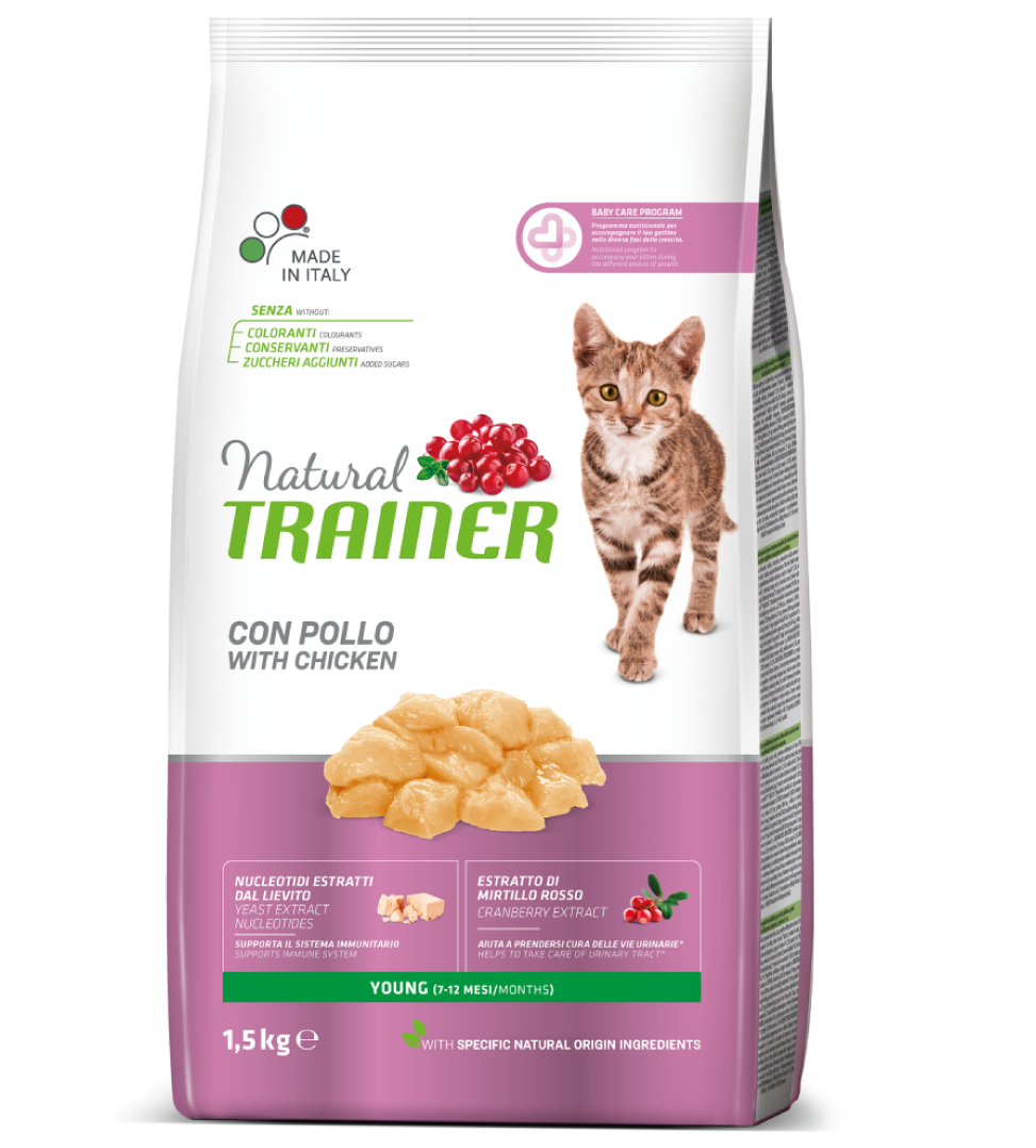 Trainer Natural Cat - Young - 1.5kg