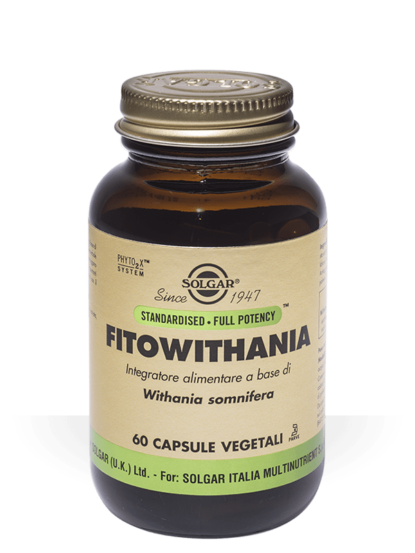Solgar Fitowithania 60 capsule vegetali