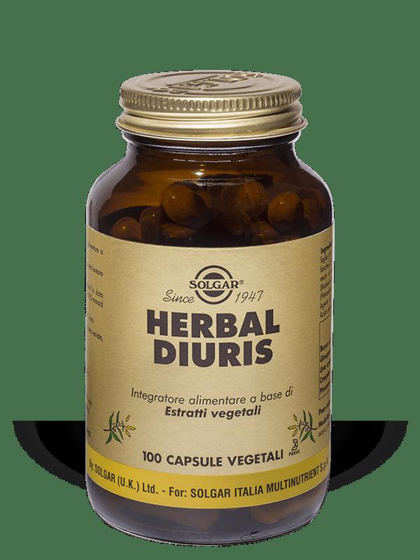 Solgar Herbal Diuris-100 capsule vegetali