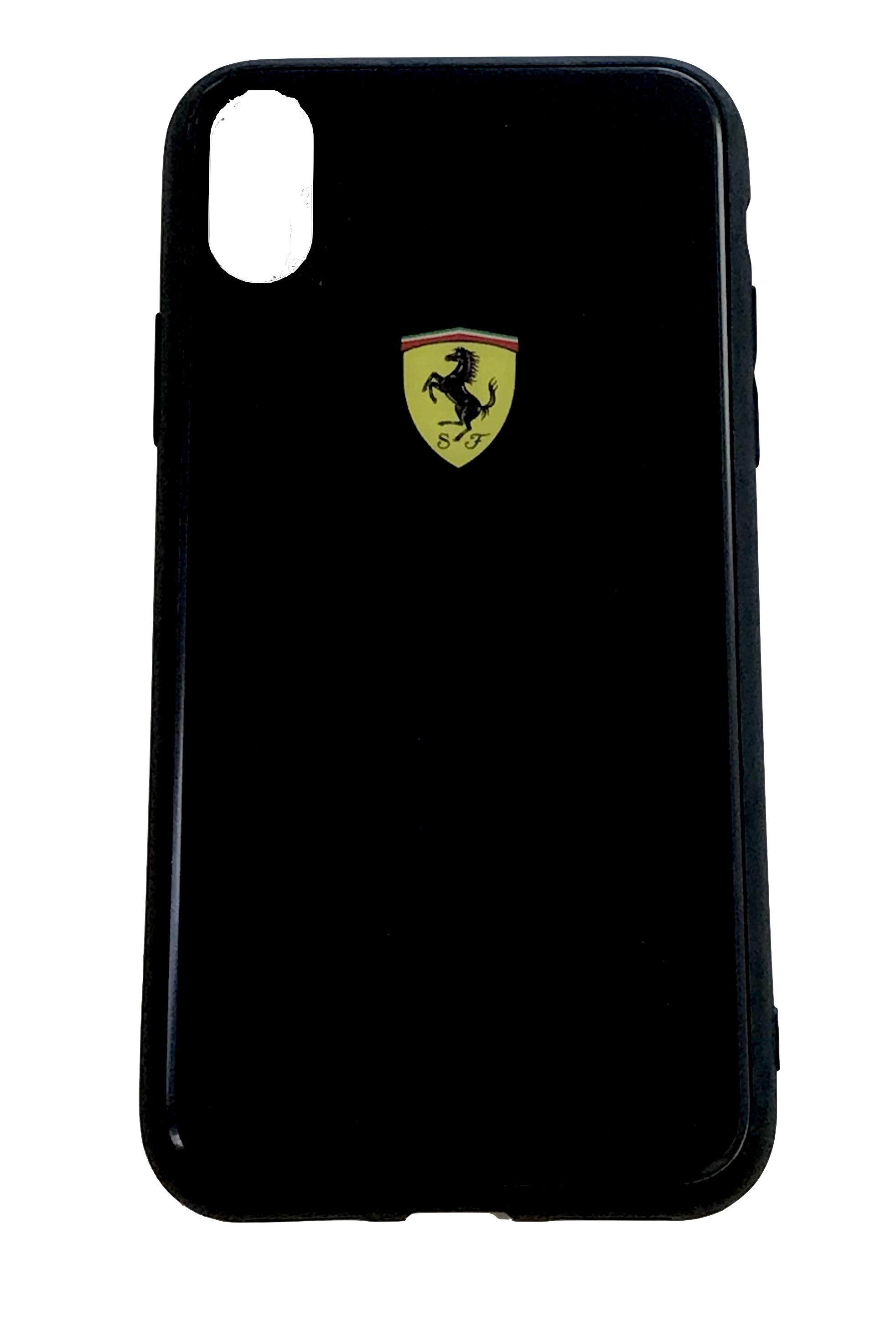 Ferrari Black Hard Case iPhone X