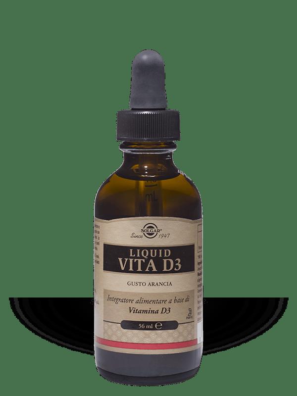 Solgar Liquid Vita D3 56 ml liquido