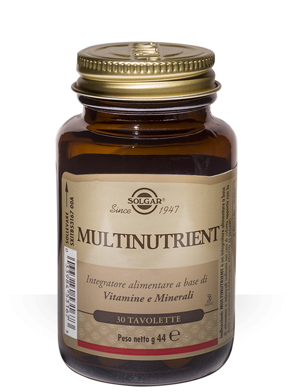 Solgar Multinutrient 30 tavolette