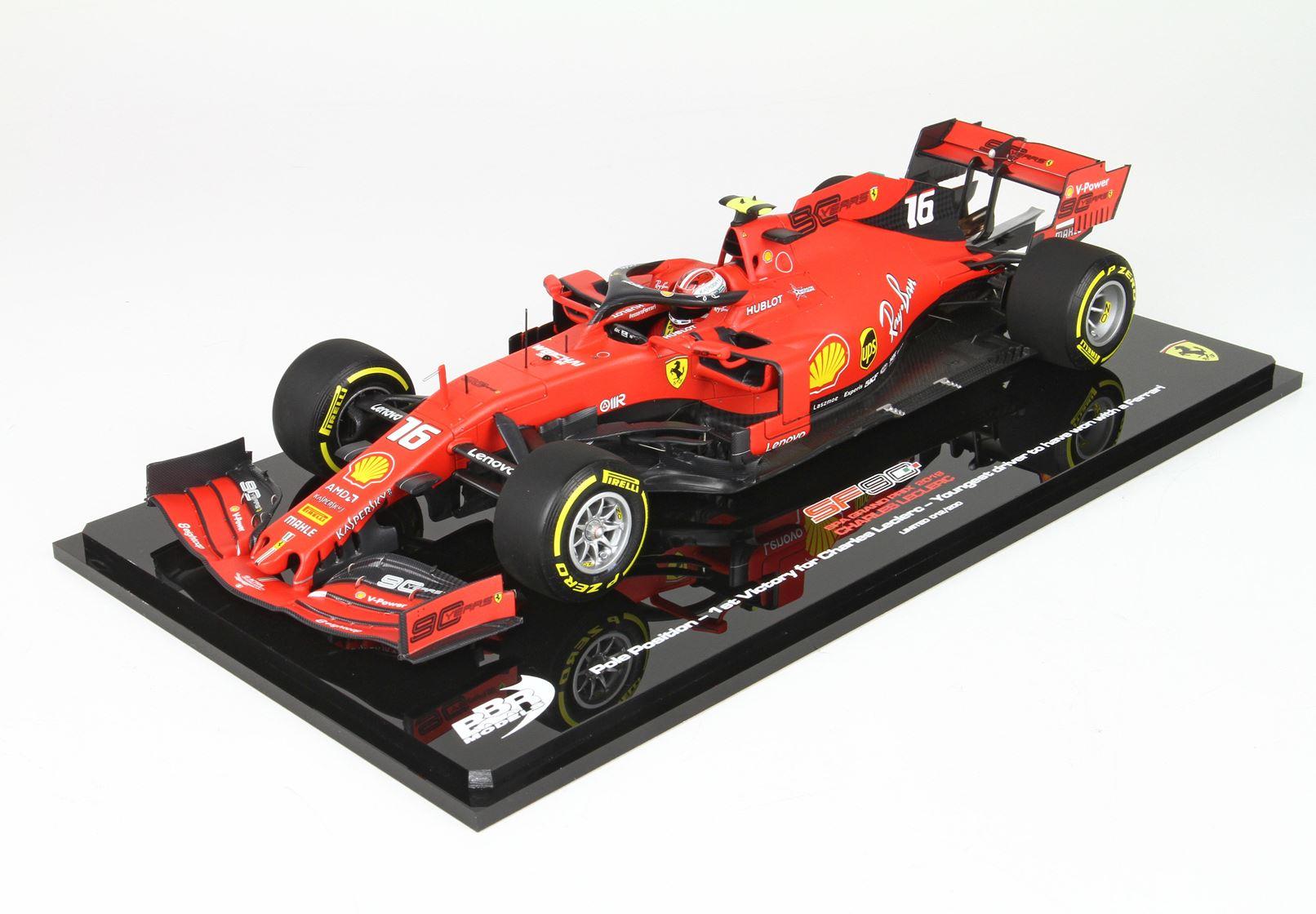 Ferrari SF90 Belgium Gran Prix 2019 Charles Leclerc 1/18