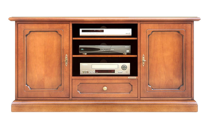 Wooden entertainment TV unit for living room