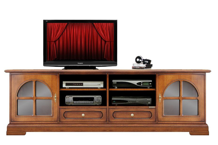 Wooden tv cabinet, strong and reliable structure
