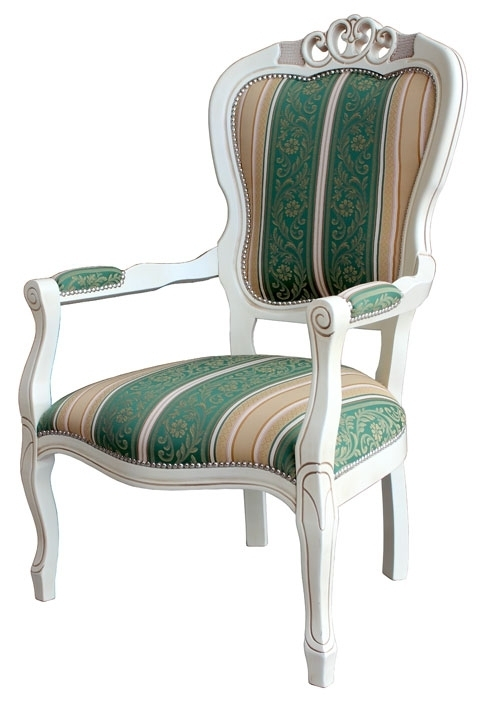 Shabby chic armchair classic style