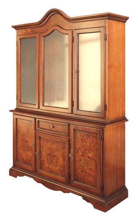 Inlaid display cabinet