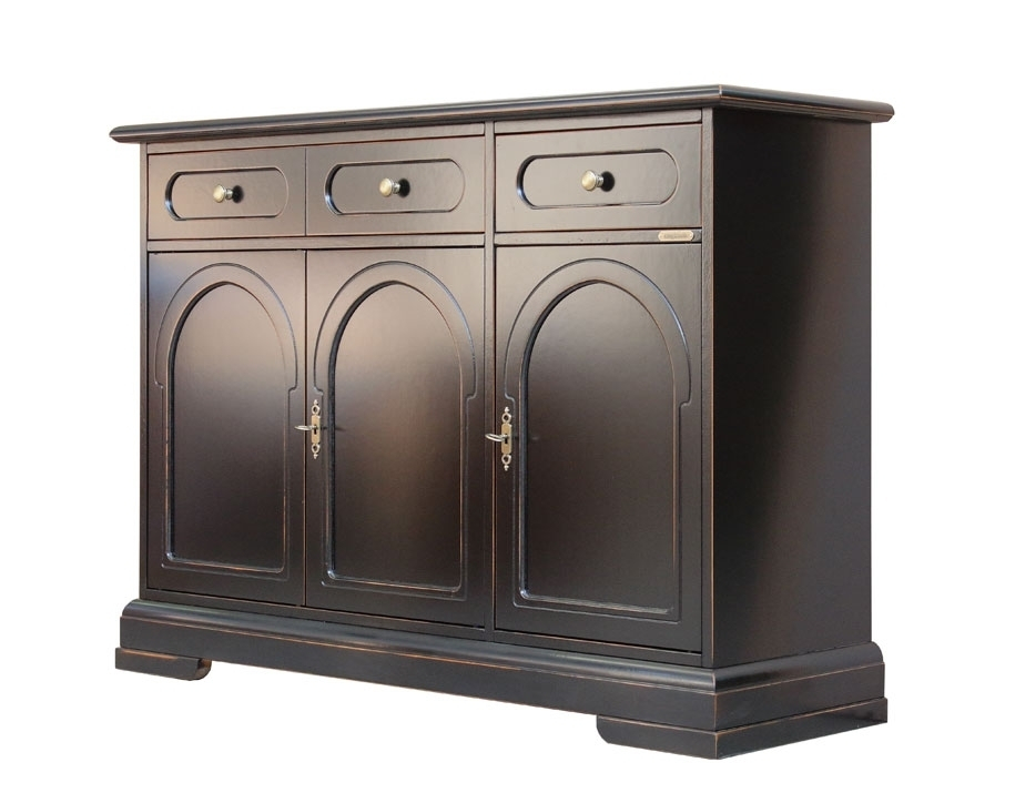 Living room sideboard 3 doors