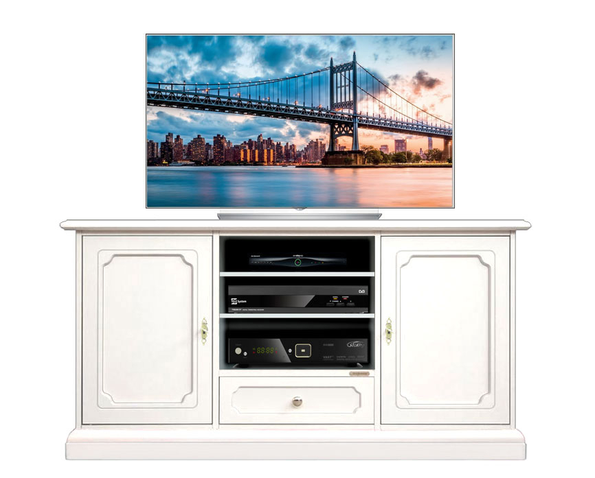Wooden entertainment TV cabinet for living room