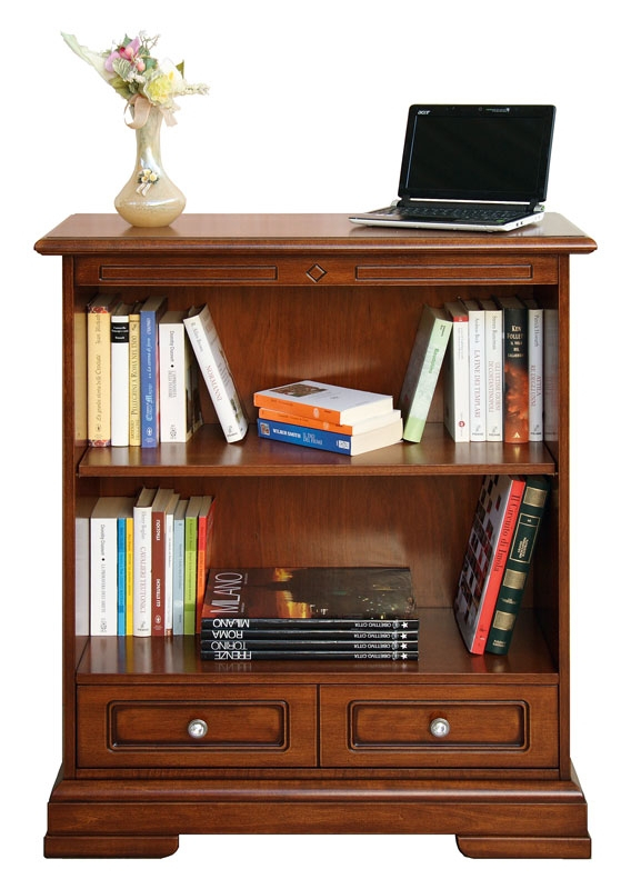 1 drawer bookcase in wood Grace