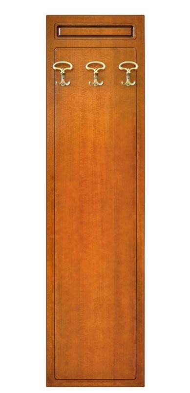 Hallway wall coat rack in wood