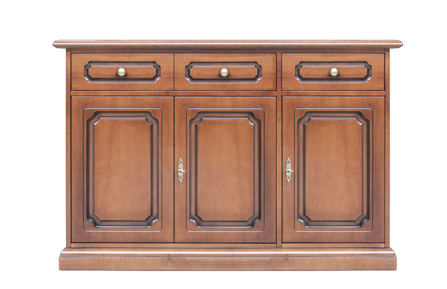 Three-doors sideboard