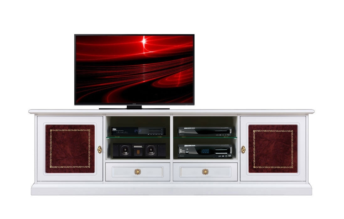 Tv unit 2 meters long with leather