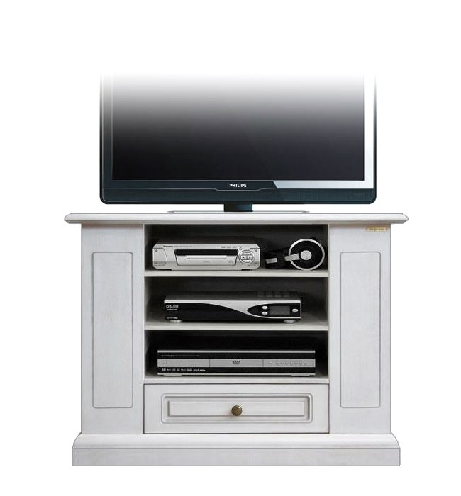 Functional tv cabinet in lacquered wood