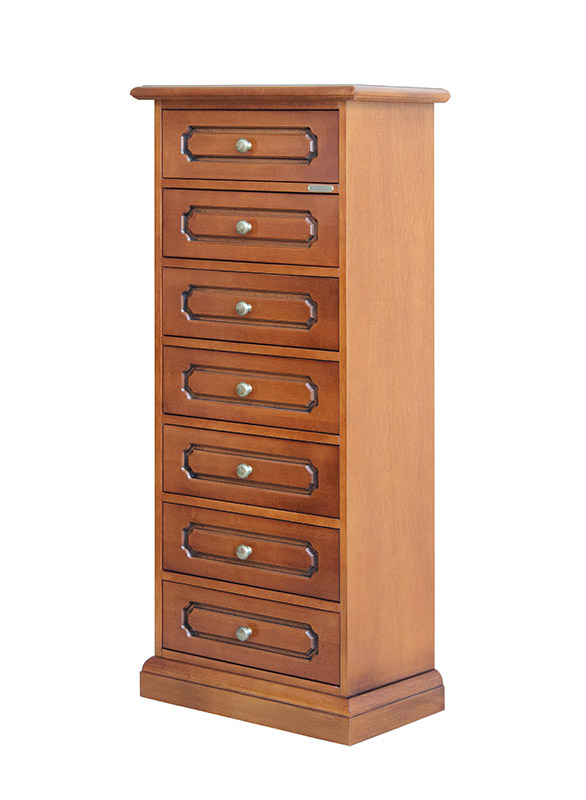 Classic dresser with 7 drawers