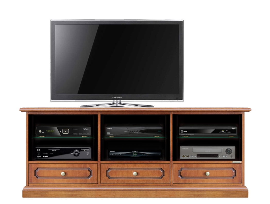 Tv stand with compartments