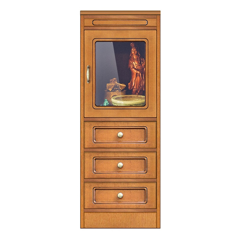 Compos collection low display cabinet 3 drawers