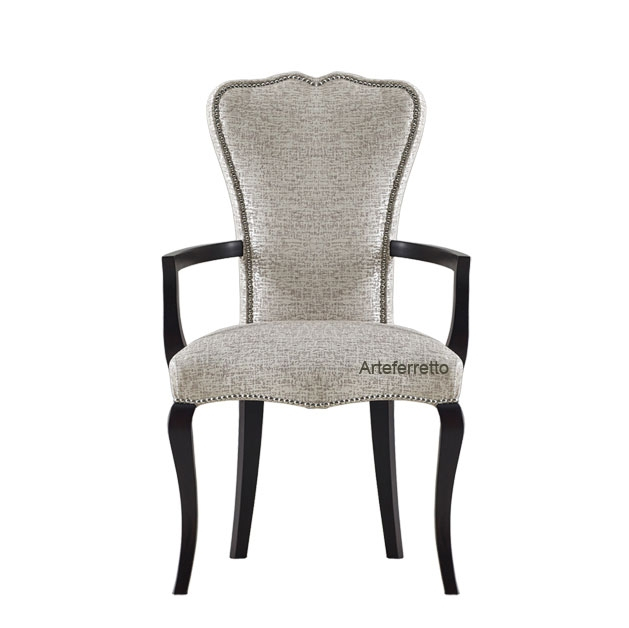 Dining armchair in wood, Dolce relax