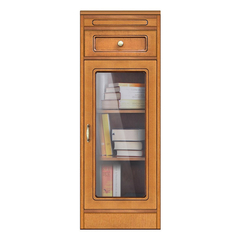 Compos Collection living room small bookcase with drawer