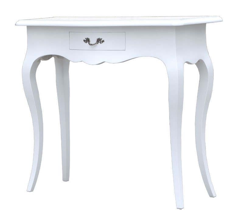 PROMO! Lacquered console table 1 drawer, entryway side table