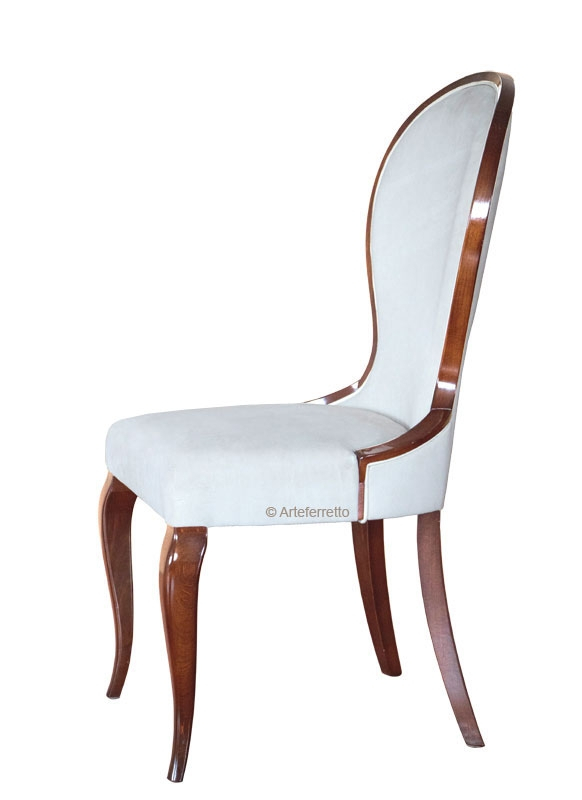 Shaped dining chair Clessidra
