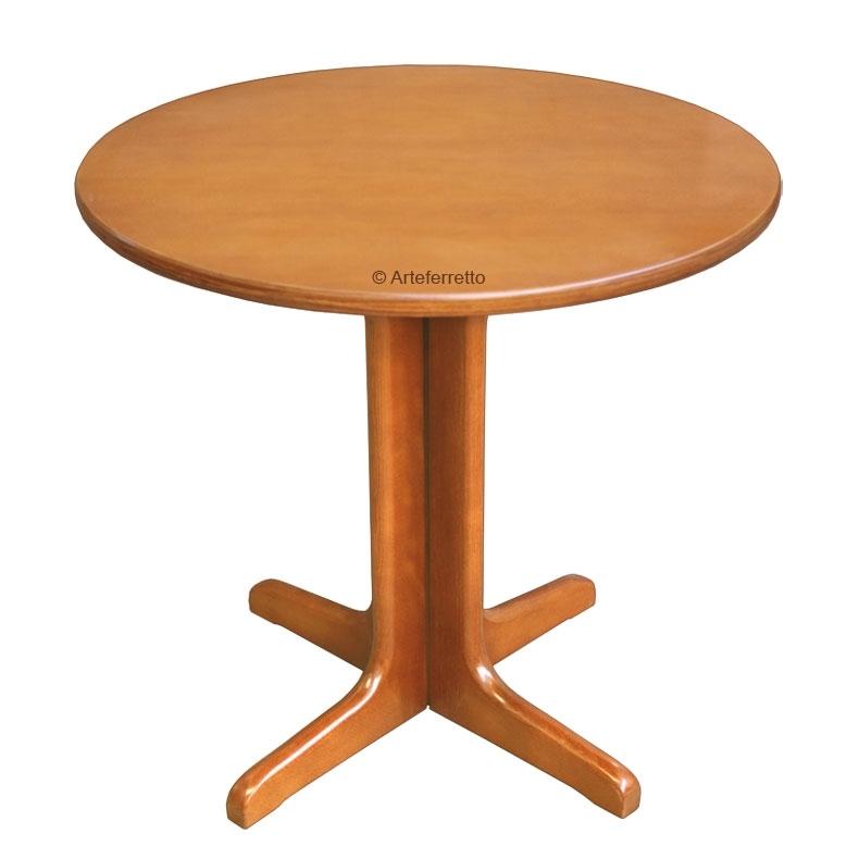 Beech wood side table