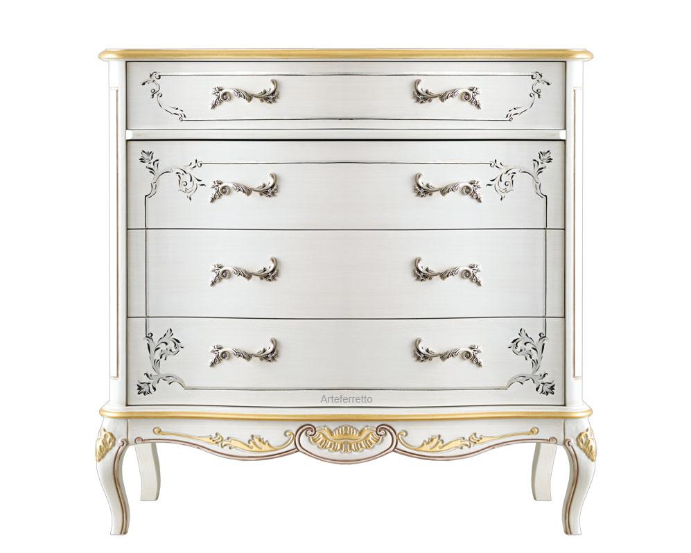 Decorated dresser Italian design