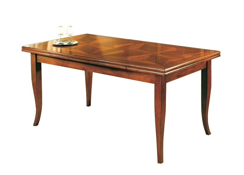 Inlaid dining table 170-250 cm