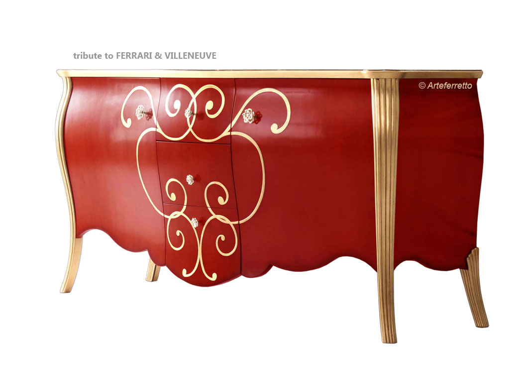Wood sideboard Legends collection