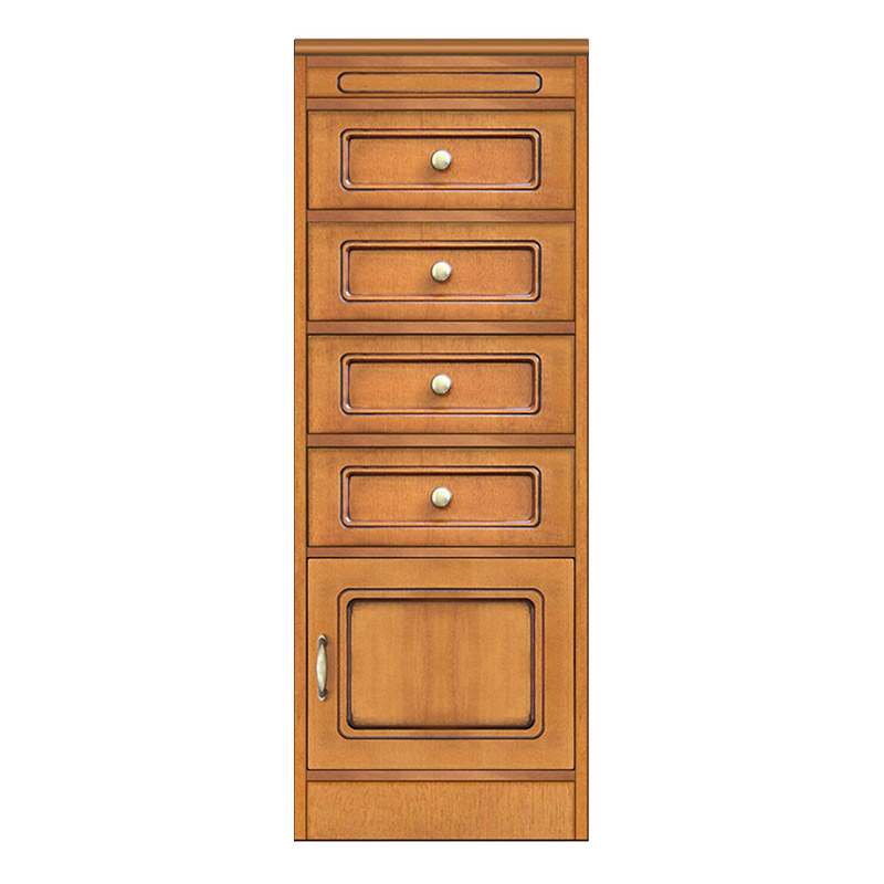 Compos collection - Storage cabinet with 1 door and 4 drawers