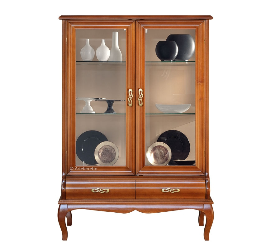 Shaped display cabinet Chic