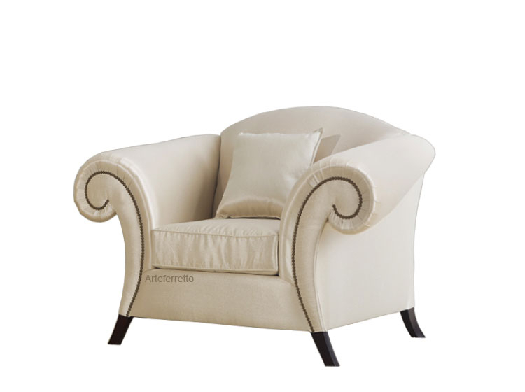 Upholstered armchair Love affair