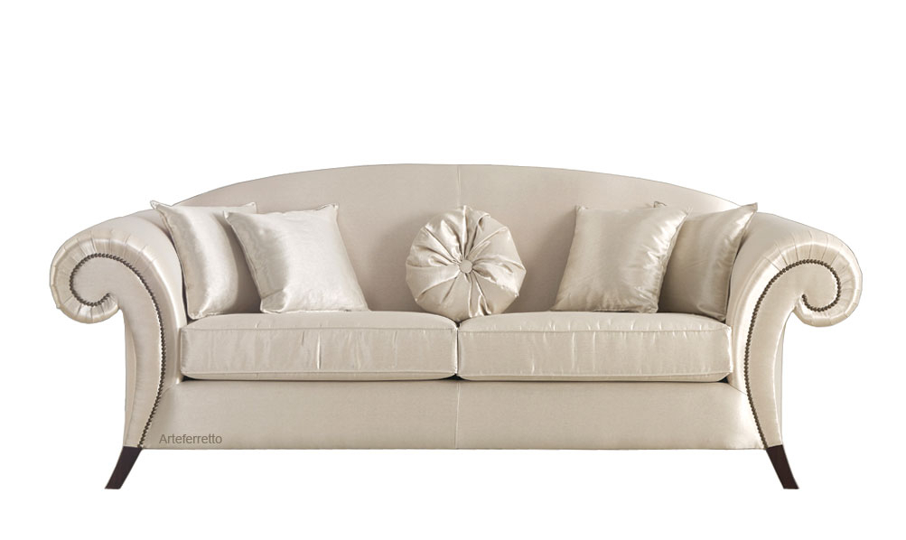 Upholstered couch love affair