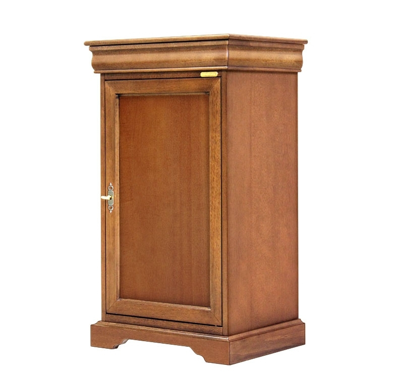 Space saving small cabinet