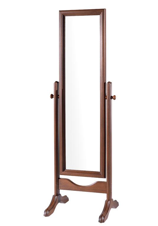 Bedroom swivel mirror wood frame