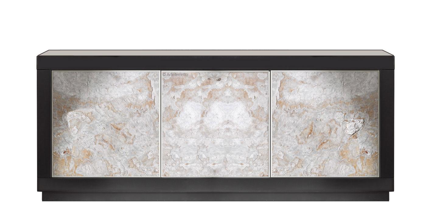 Three doors modern sideboard