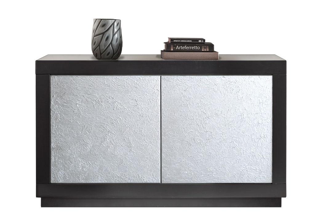 Contemporary silver sideboard