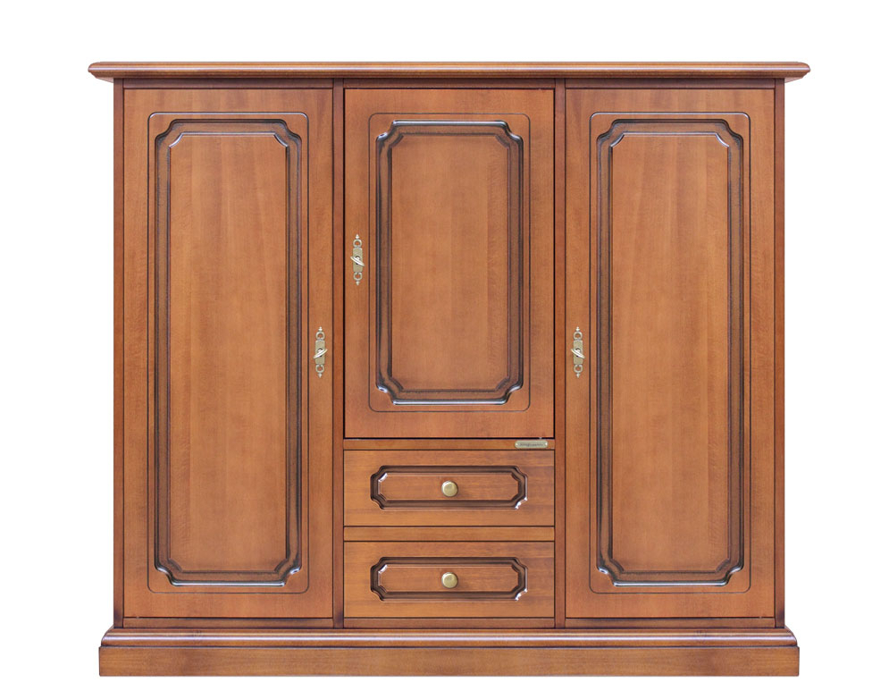 Wooden dining sideboard 3 doors