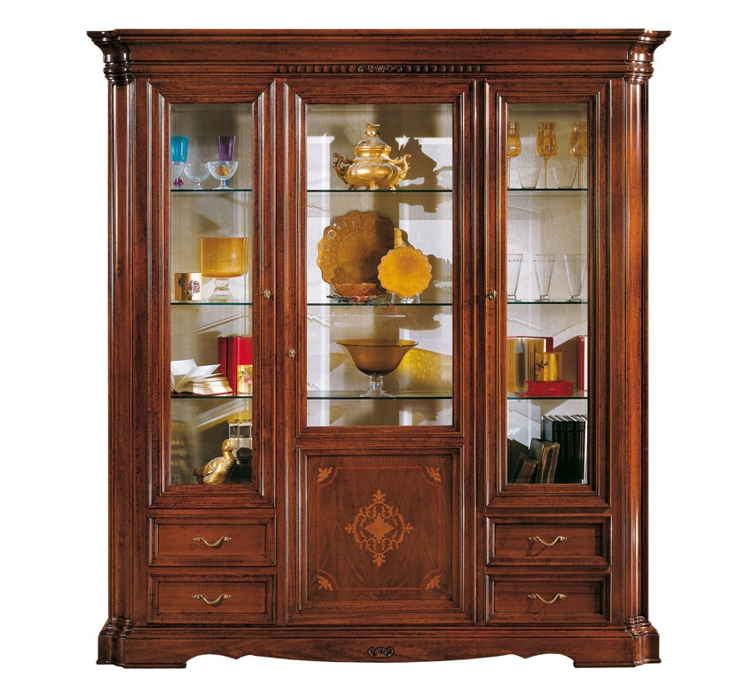 Glass display cabinet Old Venice