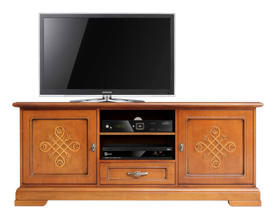 Italian design tv cabinet with friezes You