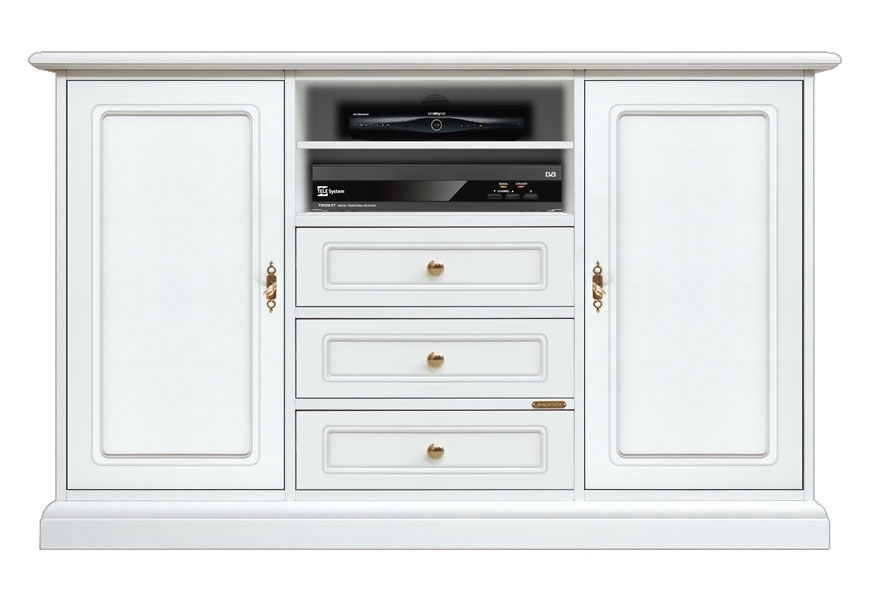Tv unit 3 drawers 2 doors