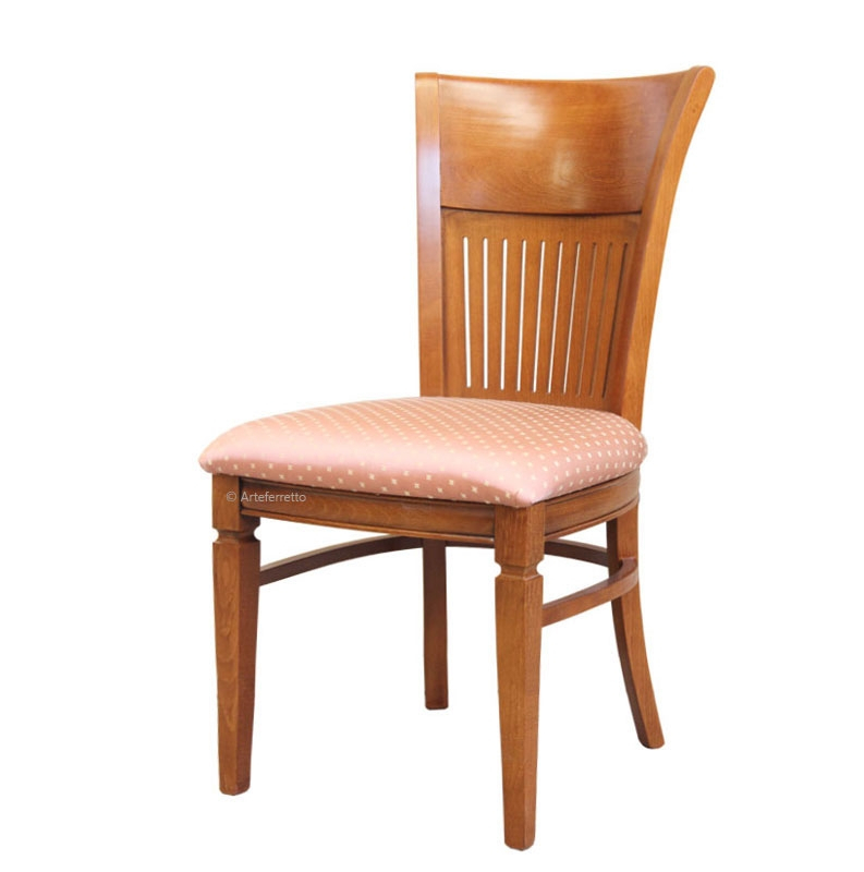Beech wood chair Rainbow