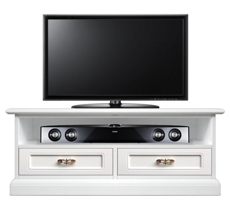 Tv unit with soundbar shelf