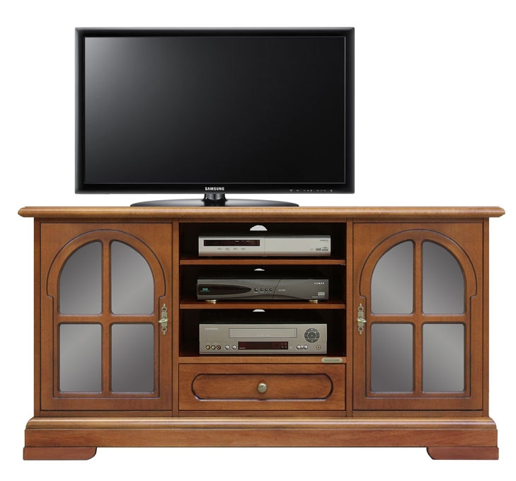 Tv sideboard in wood cm 130