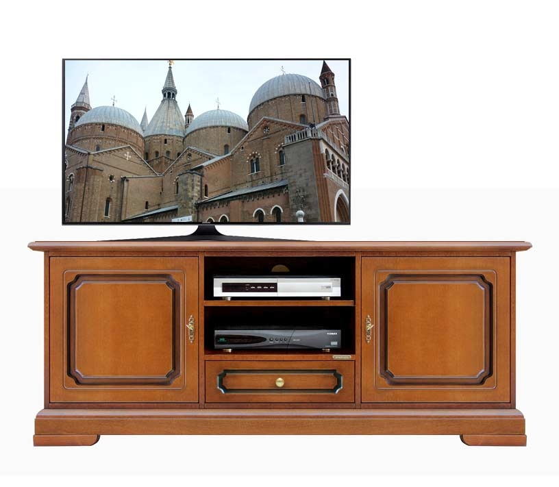 Handcrafted classic tv sideboard