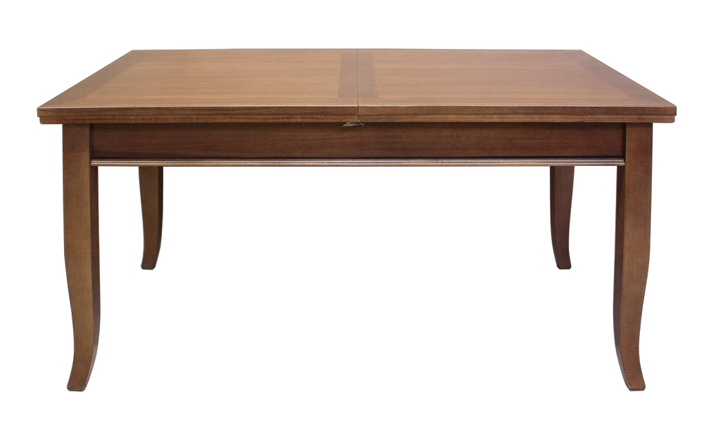 Extendable dining table 160 x 90 cm