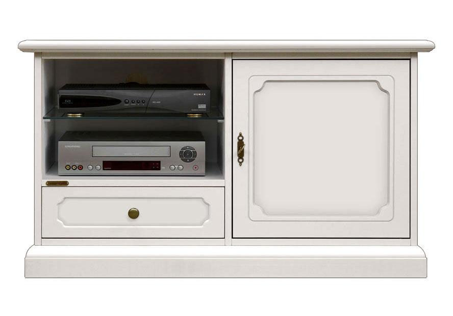 Wooden tv unit 106 cm H 60 cm