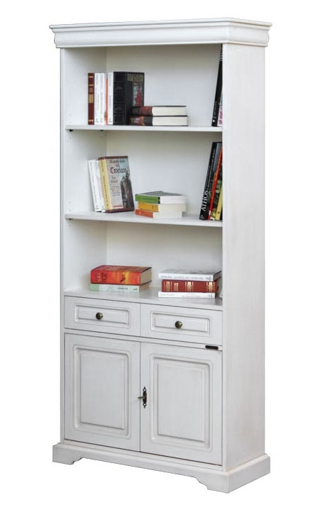 Lacquered Bookcase with doors