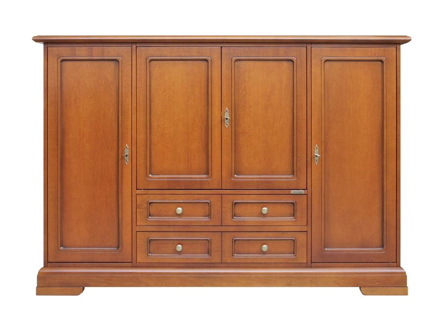 Multifunctional cabinet for living room