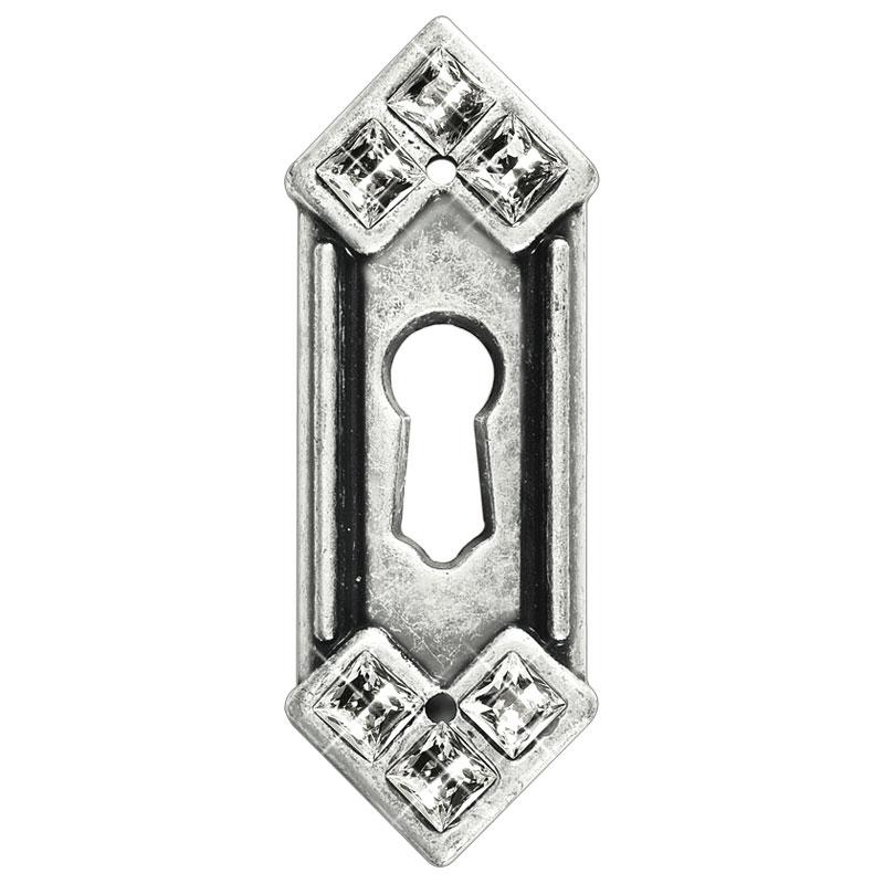 Swarovski keyhole cover